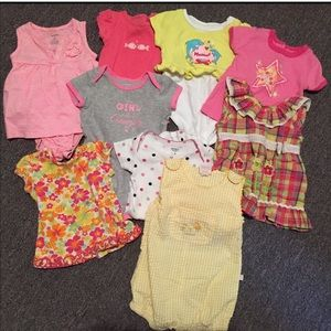 Other - 6 month Baby Infant Girl Bundle 9 Pieces